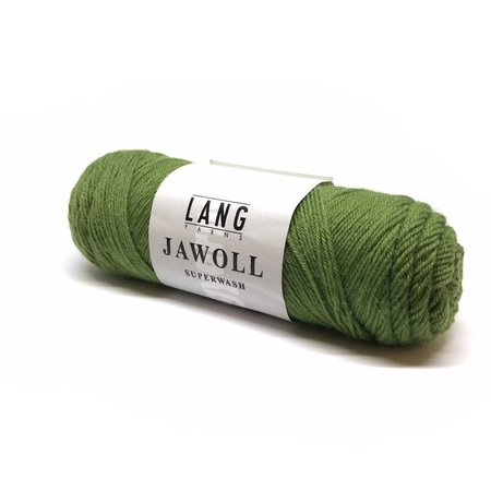 Lang Yarns Jawoll Superwash Olijfgroen (198)