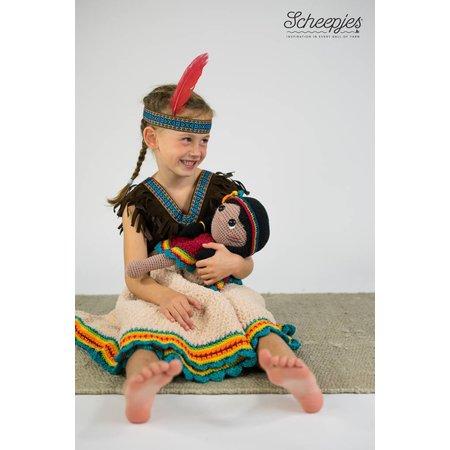 Garenpakket Knuffeldeken Indigo het Indiaantje