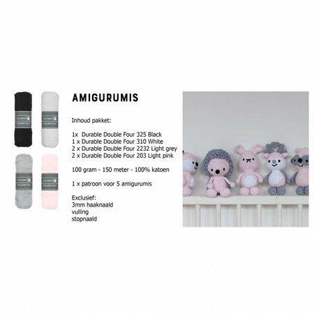 Haakpakket DenDennis amigurumis - 1 roze