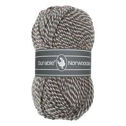 Durable Norwool Plus M04932 - bruin/grijs/wit