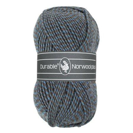 Durable Norwool Plus blauw/beige/grijs (M235)