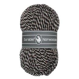 Durable Norwool Plus M00932 - wit/bruin/zwart