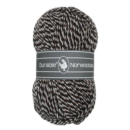 Durable Norwool Plus wit/bruin/zwart (M00932)