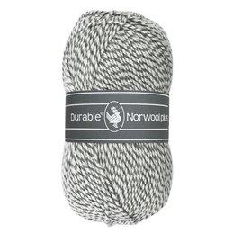 Durable Norwool Plus M004 - wit/grijs