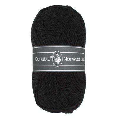 Durable Norwool Plus 000 - zwart