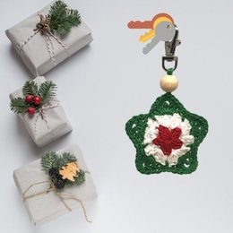 Garenpakket: Kerstster hanger
