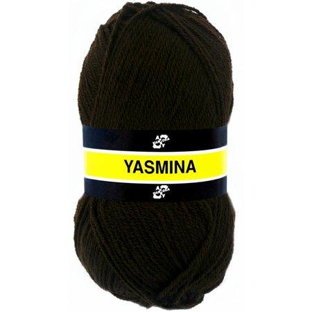 Scheepjes Yasmina donkerbruin (1101)