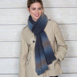 Katia Haakpatroon shawl Katia Mohair Dégradé