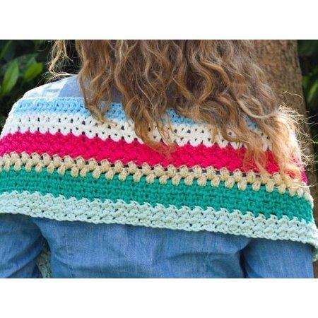 Durable Haakpatroon Ibiza sjaal