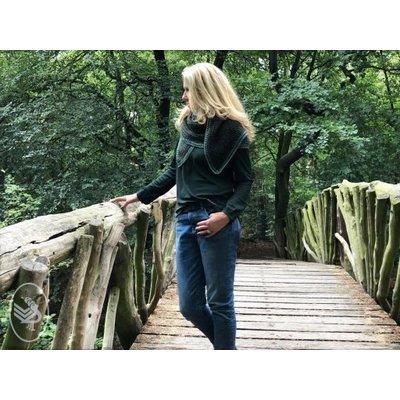 Durable Haakpatroon Into the Woods Shawl