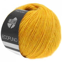 Lana Grossa Ecopuno Geel (004)