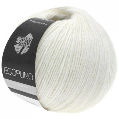 Lana Grossa Ecopuno Wit (026)
