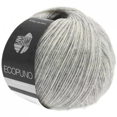 Lana Grossa Ecopuno 14 - Lichtgrijs