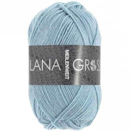 Lana Grossa Meilenweit lichtblauw (1375)