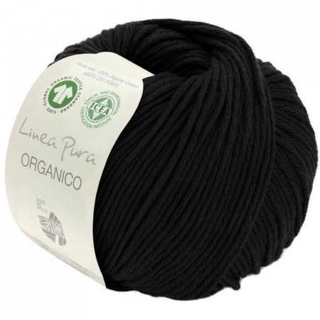 Lana Grossa Linea Pura Organico Zwart (014)