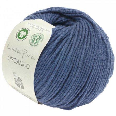 Lana Grossa Linea Pura Organico Jeansblauw (057)