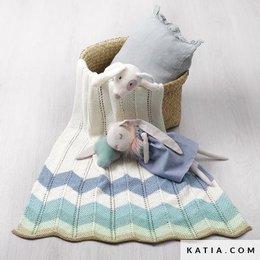 Katia Breipatroon Babydeken