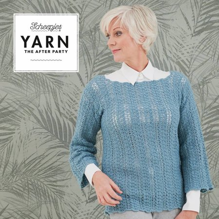Scheepjes Yarn After Party 40 Tansy Tunic