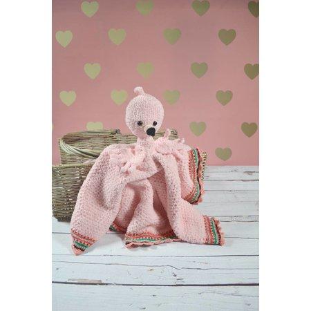Garenpakket Knuffeldeken Flamingo