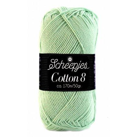 Scheepjes Cotton 8 - 664 - zacht groen
