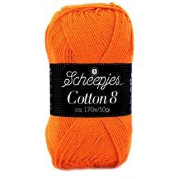 Scheepjes Cotton 8 oranje (716)