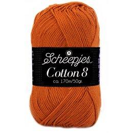 Scheepjes Cotton 8 roestbruin (671)