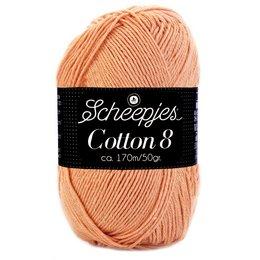 Scheepjes Cotton 8 poederroze (649)