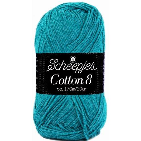 Scheepjes Cotton 8 - 724 - petrol