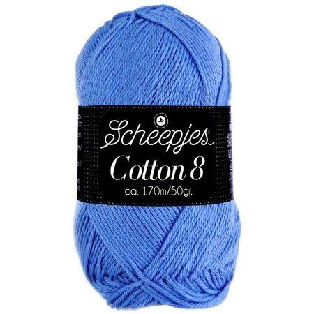Scheepjes Cotton 8 lavendel (506)