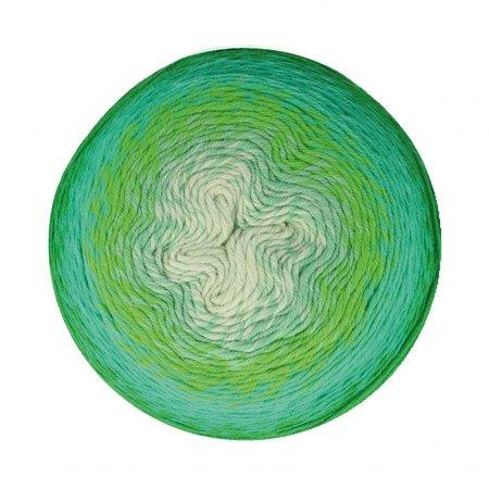 Scheepjes Whirligig Green to Blue (207)