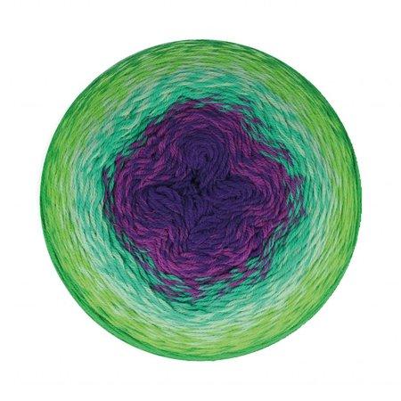 Scheepjes Whirligig Green to Purple (208)