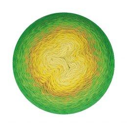 Scheepjes Whirligig Green to Ochre (206)