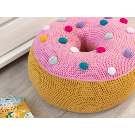 Durable Haakpatroon Donut Zitkussen