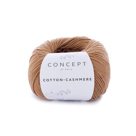 Katia Cotton cashmere Bruin (70)
