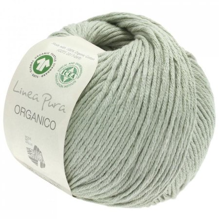 Lana Grossa Linea Pura Organico 089 - Mintgroen