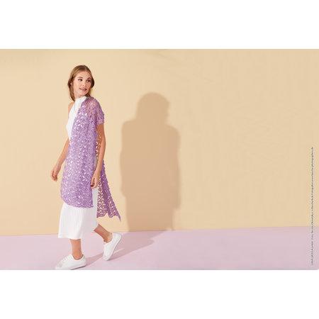 Lana Grossa Haakpakket: Sjaal Ecopuno Lookbook (6-16)