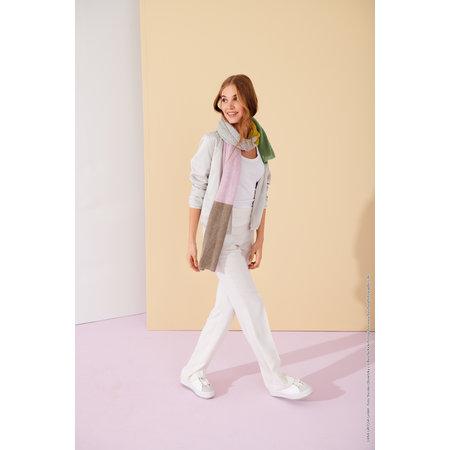 Lana Grossa Breipakket: Sjaal Ecopuno Lookbook (6-19)