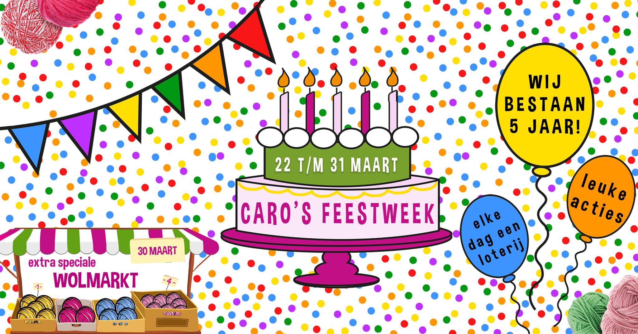 Feestweek: wij bestaan 5 jaar!