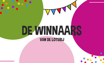 De winnaars van de loterij zijn...