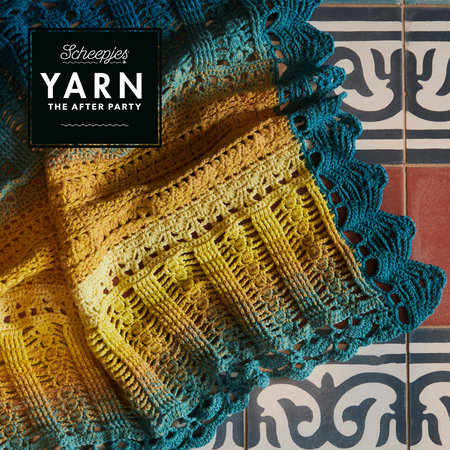 Scheepjes Yarn After Party 39 Venice Wrap