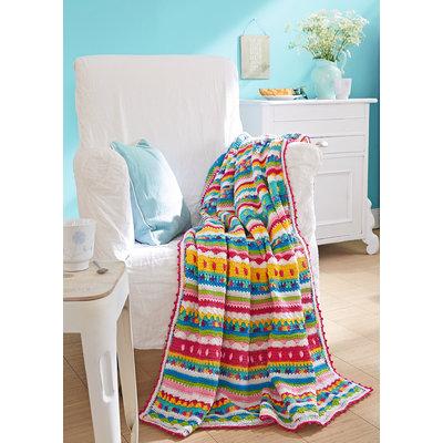 Schachenmayr Haakpakket: Kleurrijke deken