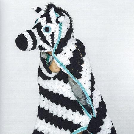 Scheepjes Garenpakket Dierencape Zebra