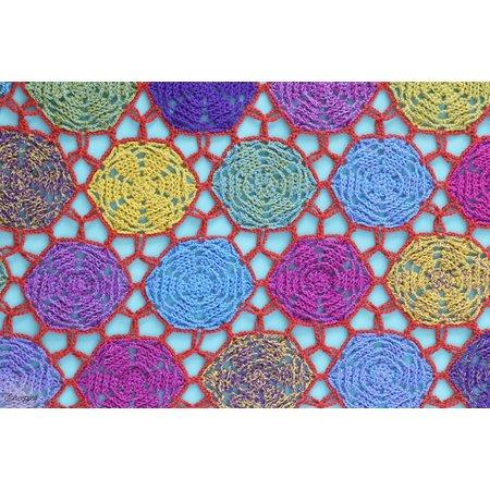 Scheepjes Anemone Shawlette - Yarn 7
