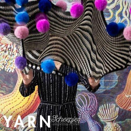 Scheepjes Pompom Ripple Wrap - Yarn 7