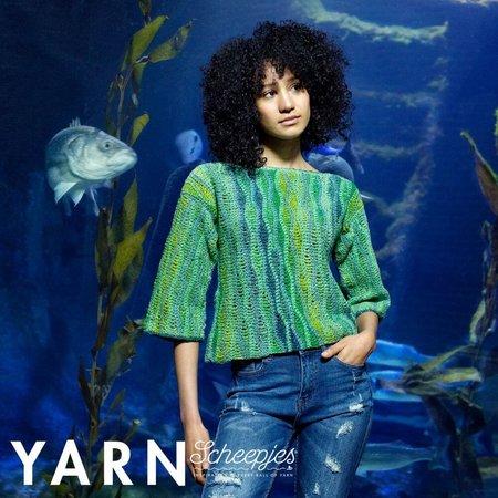 Scheepjes Kelp Garden Sweater  - Yarn 7