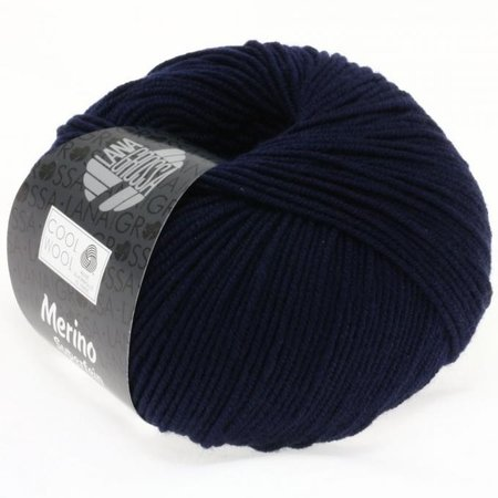 Lana Grossa Cool Wool Nachtblauw (414)