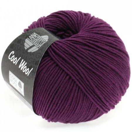 Lana Grossa Cool Wool Donker violet (2023)