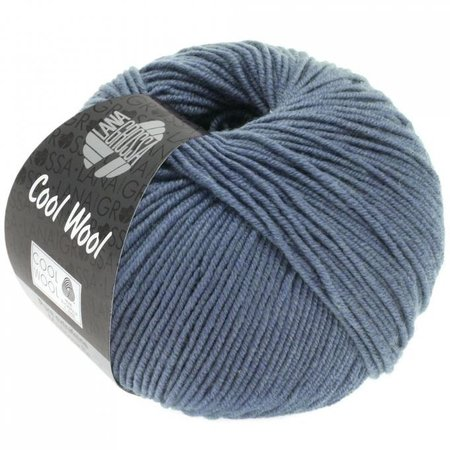 Lana Grossa Cool Wool Grijsblauw (2037)