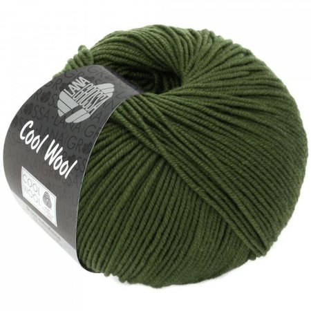 Lana Grossa Cool Wool 2042 - Donker olijf