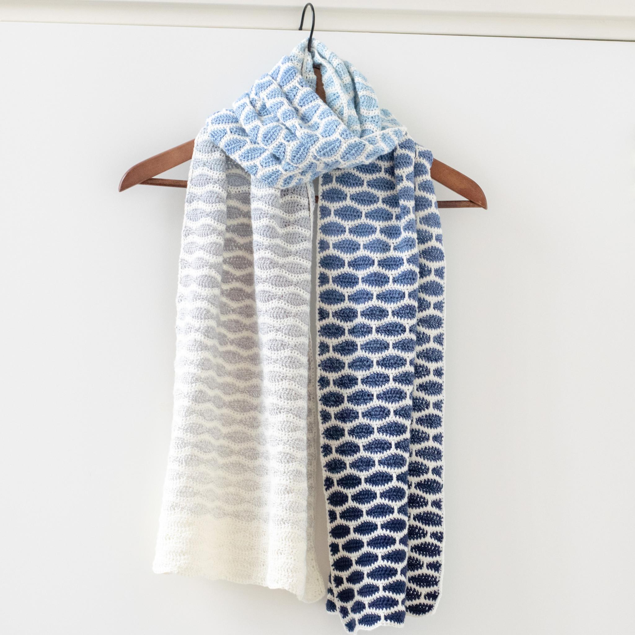 Goede Caro's Atelier Haakpatroon Honinggolfjes sjaal - Pien (digitaal HS-63
